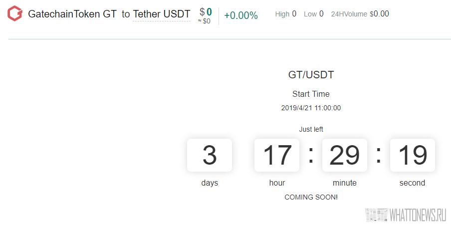 Gate.io привлекла  млн на запуск собственного токена и блокчейна