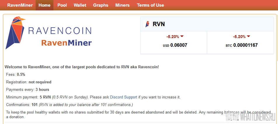 ТОП-10 пулов для майнинга Ravencoin (RVN)