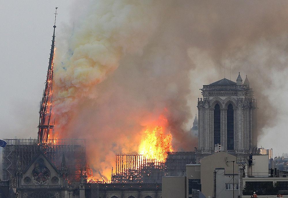Создан криптокошелёк для сбора средств на восстановление Собора Парижской Богоматери