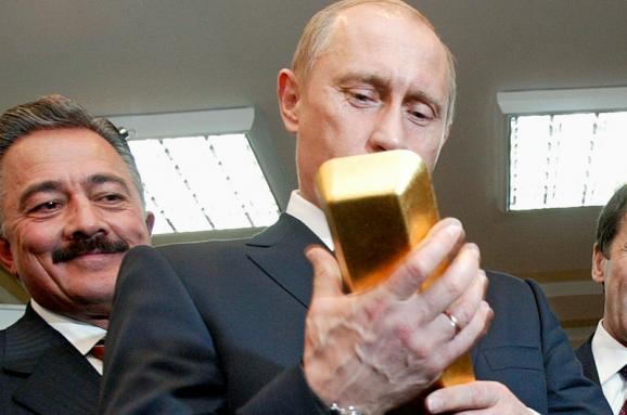 Мнение эксперта: Скупка Россией золота указывает на создание «путинкоина»